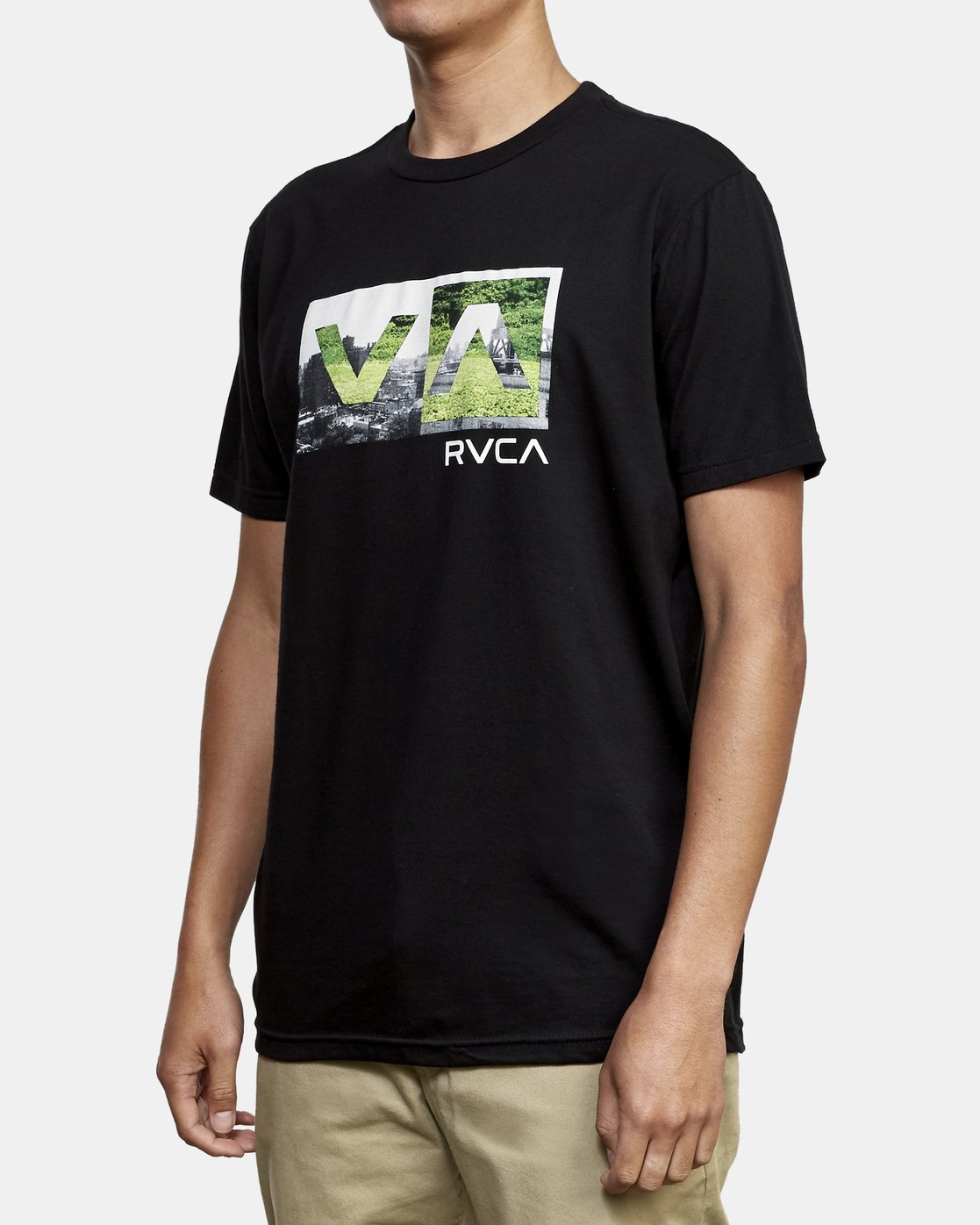 2 Balance Box T-Shirt Black M401WRBB RVCA