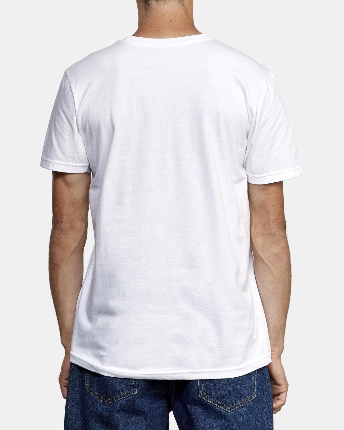 3 Balance Box T-Shirt White M401WRBB RVCA