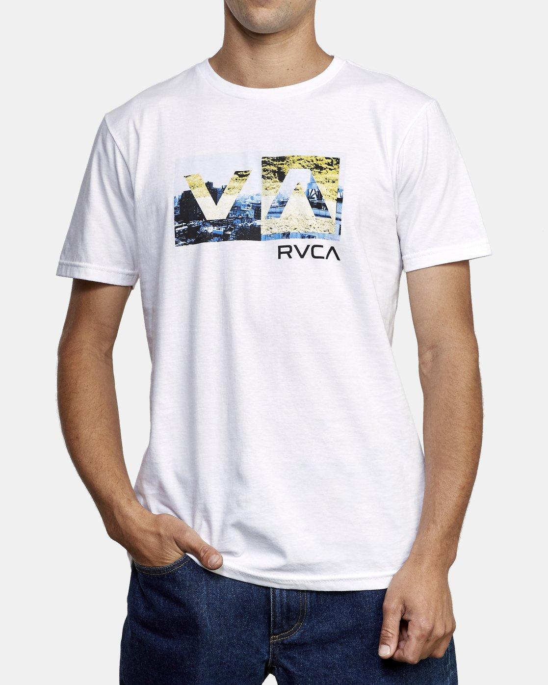 2 Balance Box TEE White M401WRBB RVCA