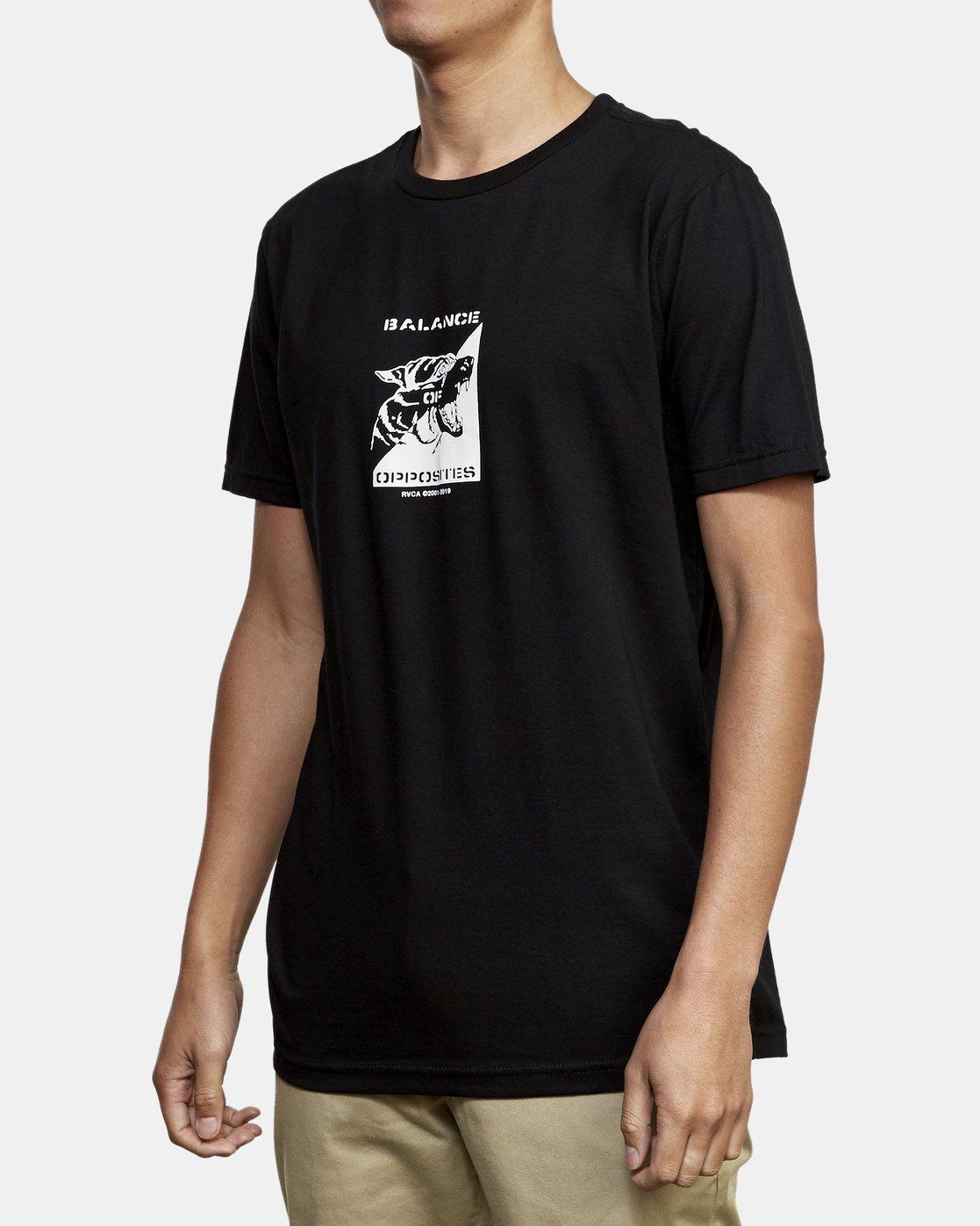 2 Beware T-Shirt Black M401WRBE RVCA