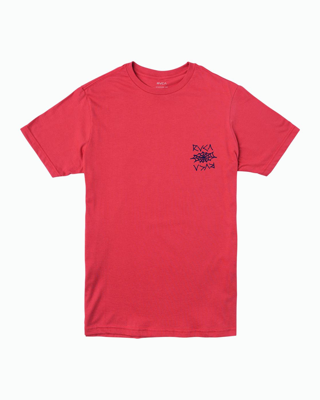 1 Cobbwebs T-Shirt Grey M401WRCO RVCA