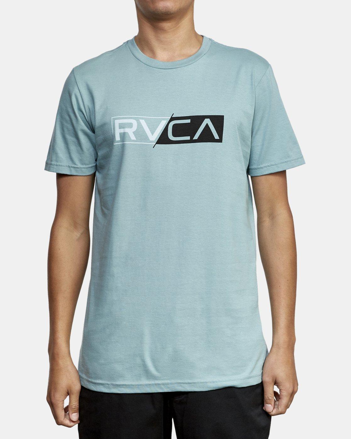 1 Lateral RVCA T-Shirt Multicolor M401WRLA RVCA