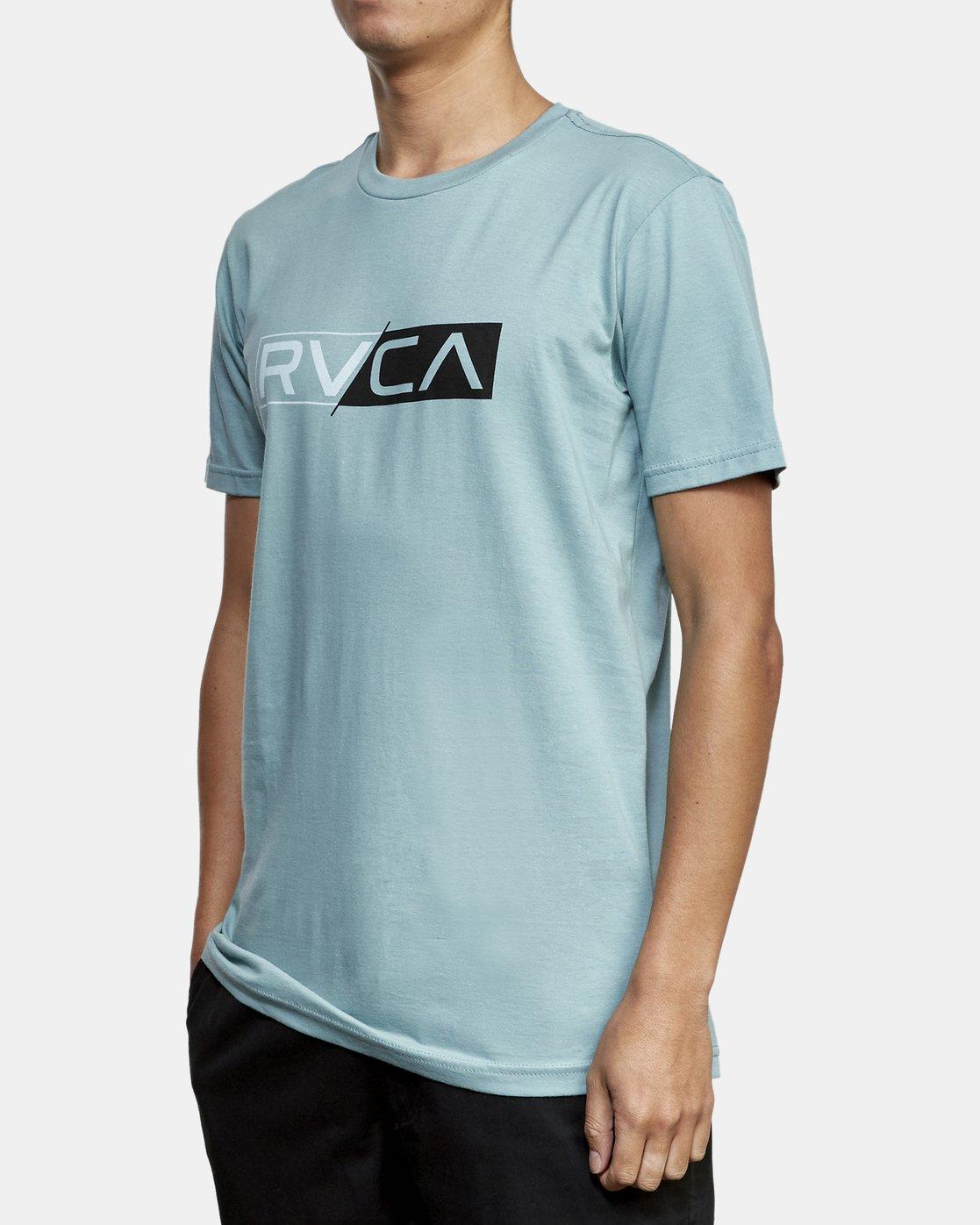 2 Lateral RVCA T-Shirt Multicolor M401WRLA RVCA
