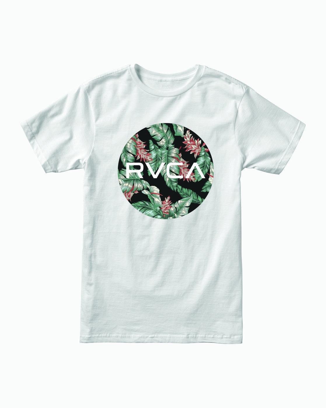 0 Motors Fill T-Shirt White M401WRMO RVCA