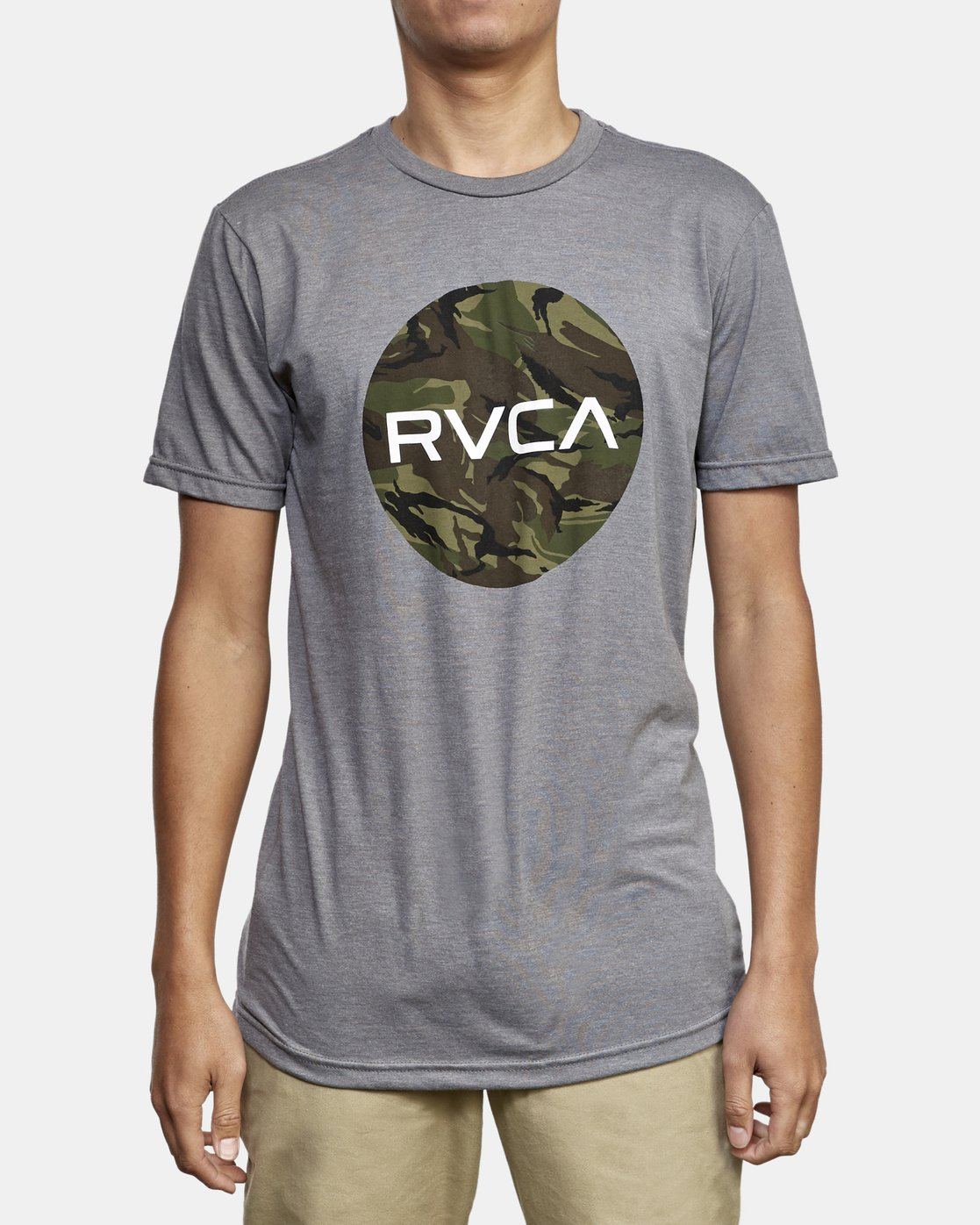 1 Motors Fill T-Shirt Green M401WRMO RVCA