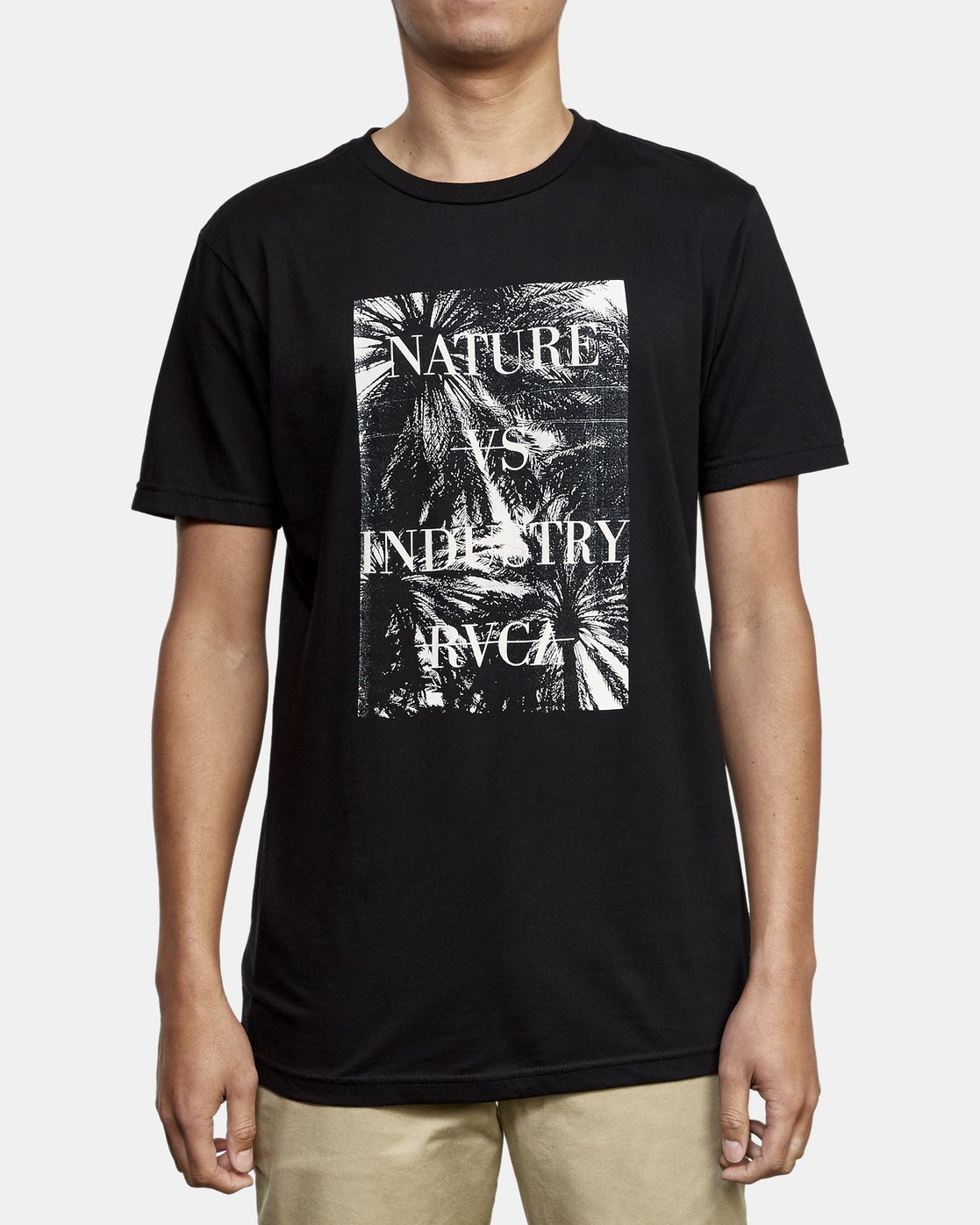 1 Photosynthesis TEE Black M401WRPH RVCA