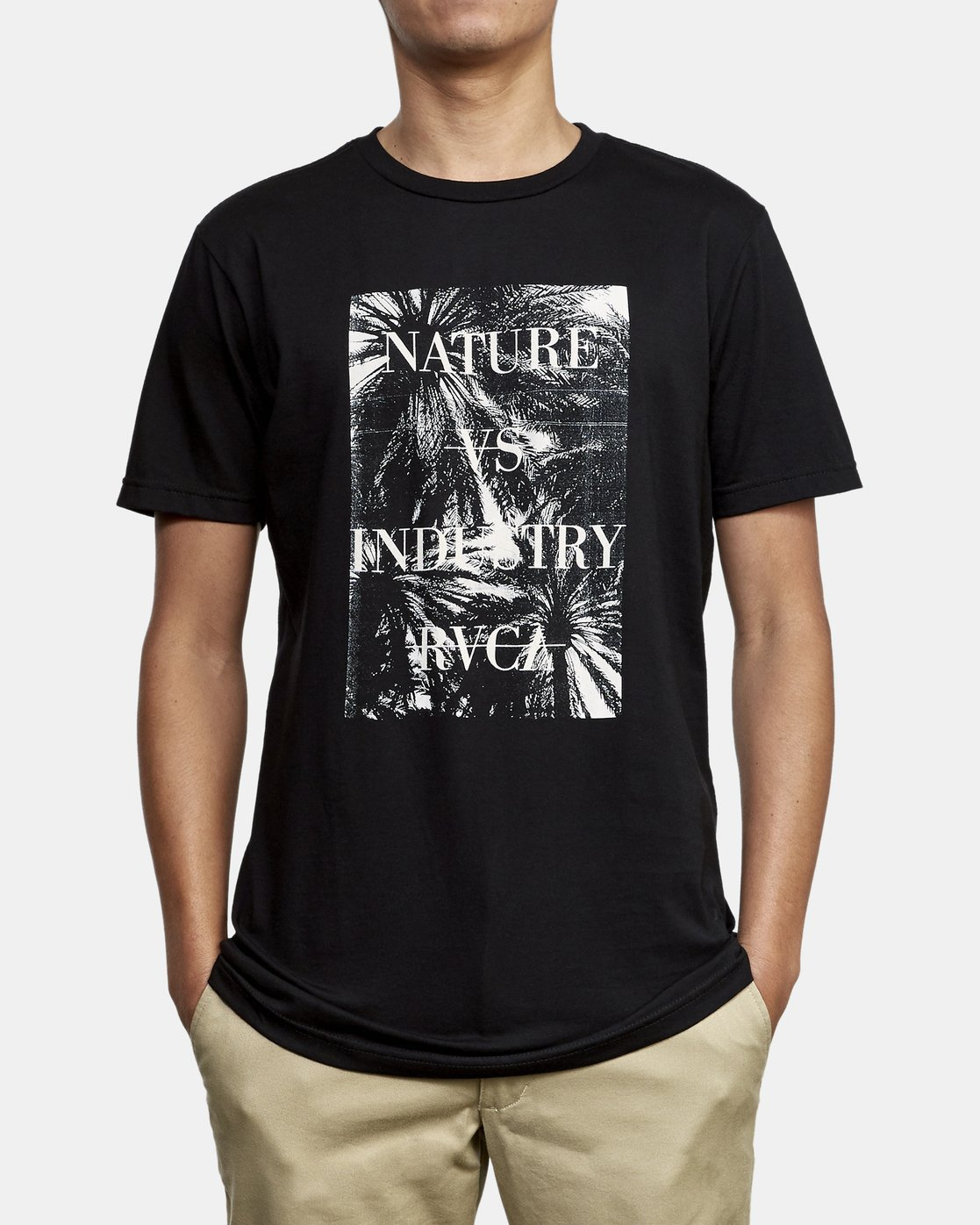 2 Photosynthesis T-Shirt Black M401WRPH RVCA