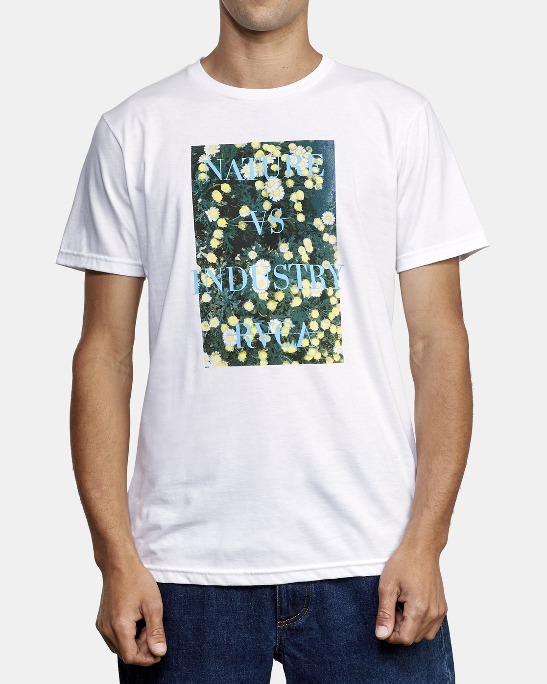 1 Photosynthesis T-Shirt White M401WRPH RVCA
