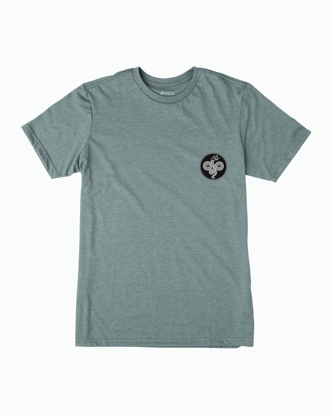 1 RVCA Serpent T-Shirt Grey M401WRRS RVCA