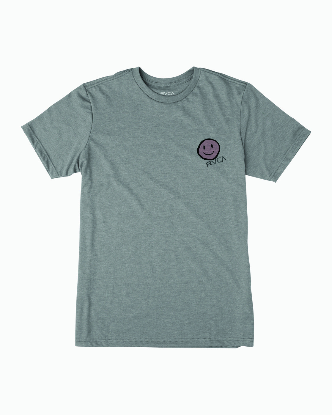 1 Andrew Pommier Twins T-Shirt Green M401WRTW RVCA