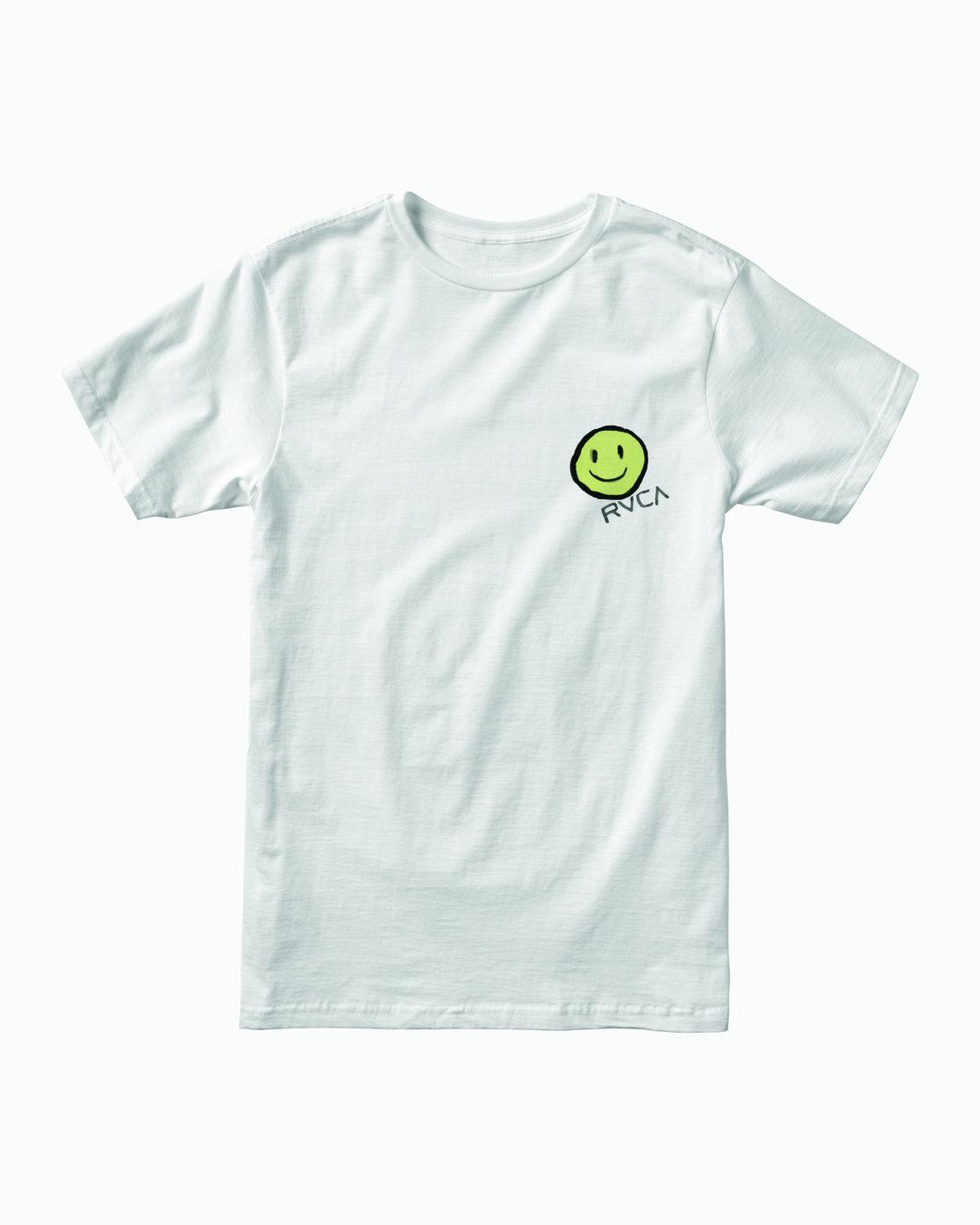 1 Andrew Pommier Twins T-Shirt White M401WRTW RVCA