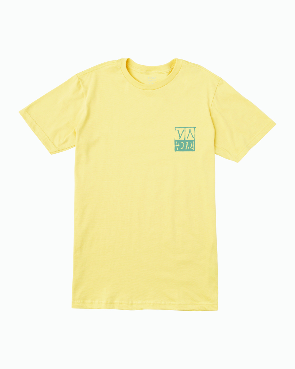 1 Unplugged T-Shirt Yellow M401WRUN RVCA