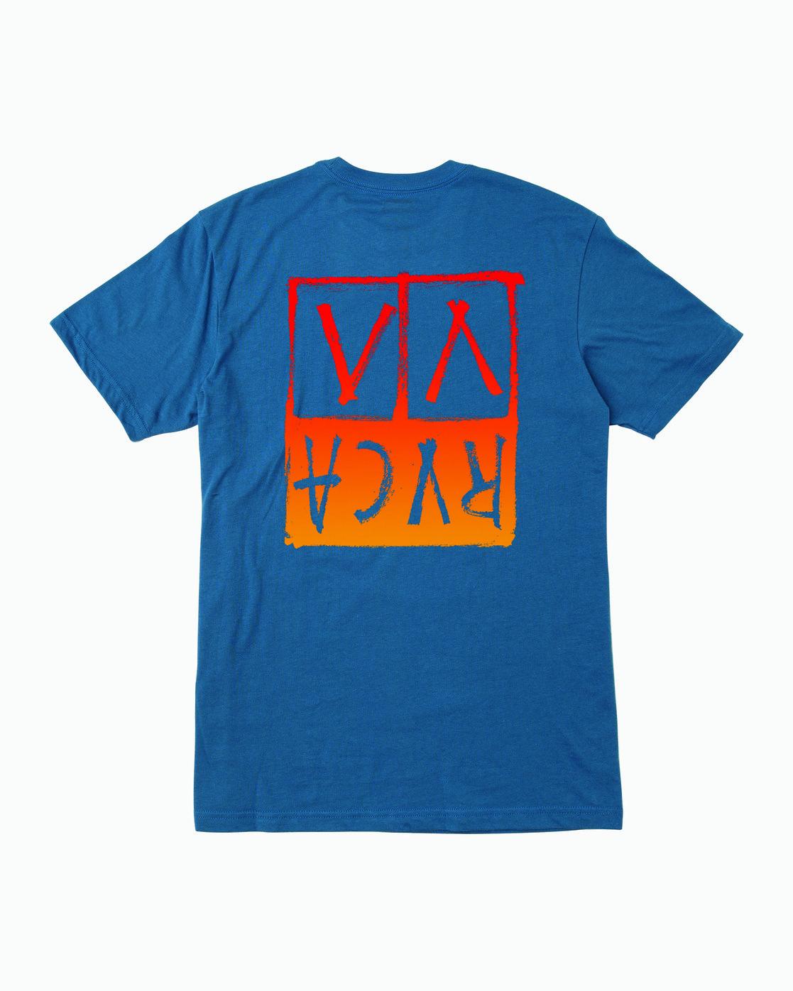 0 Unplugged T-Shirt Blue M401WRUN RVCA