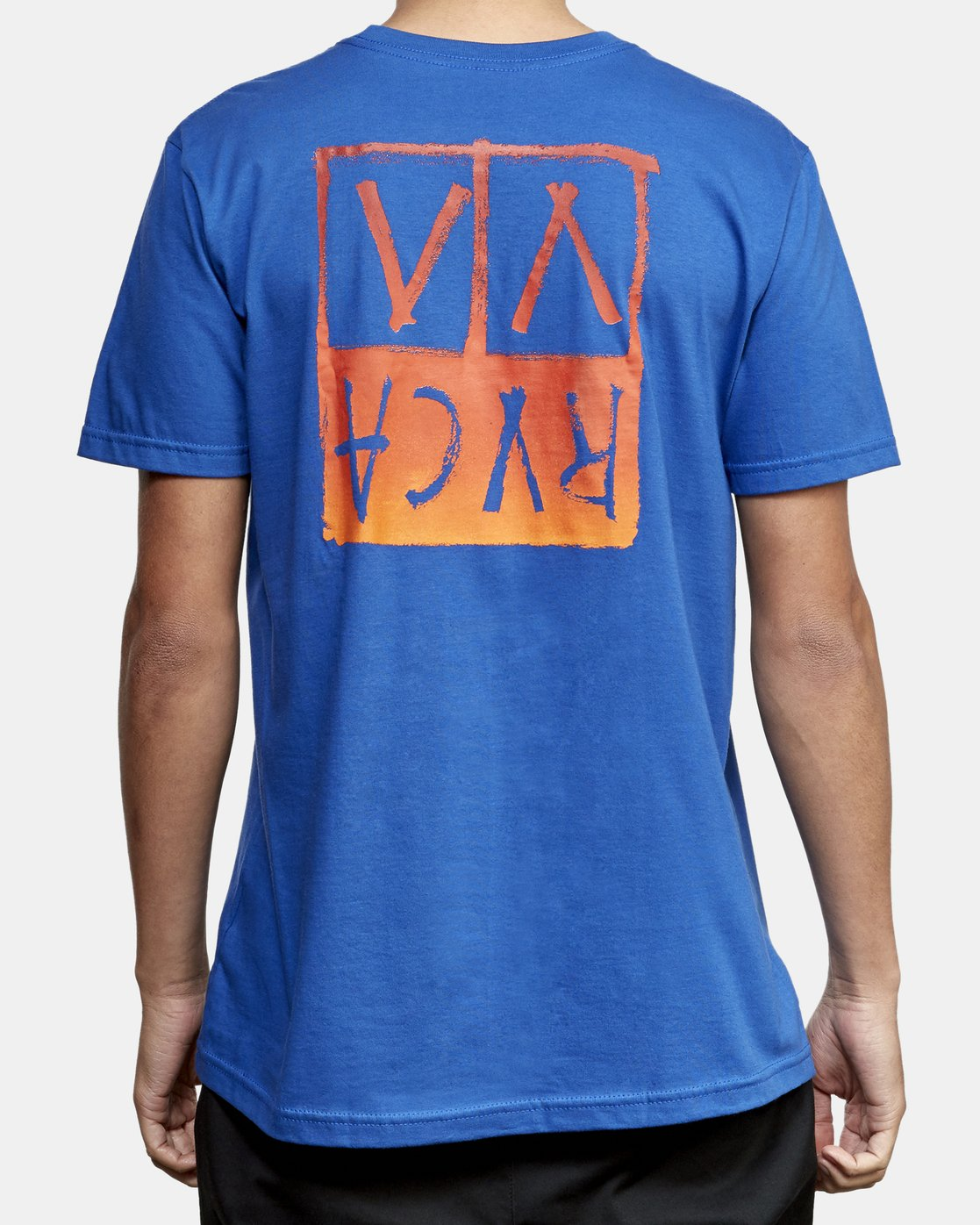 4 Unplugged T-Shirt Blue M401WRUN RVCA