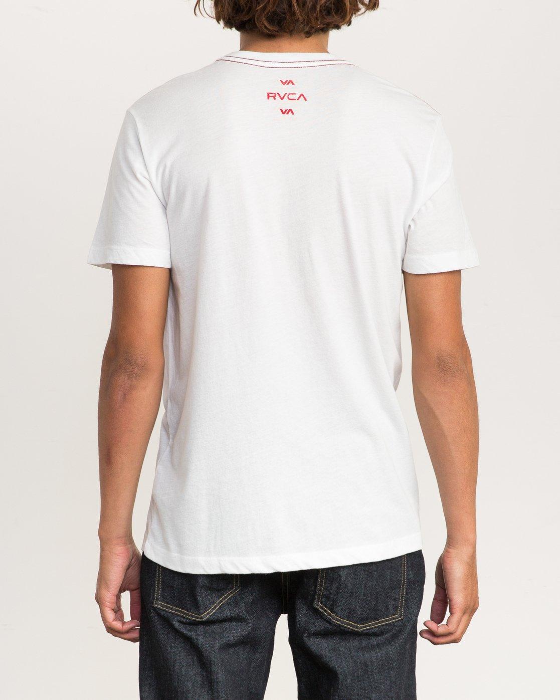 3 VA RVCA VA T-Shirt  M403PRVT RVCA