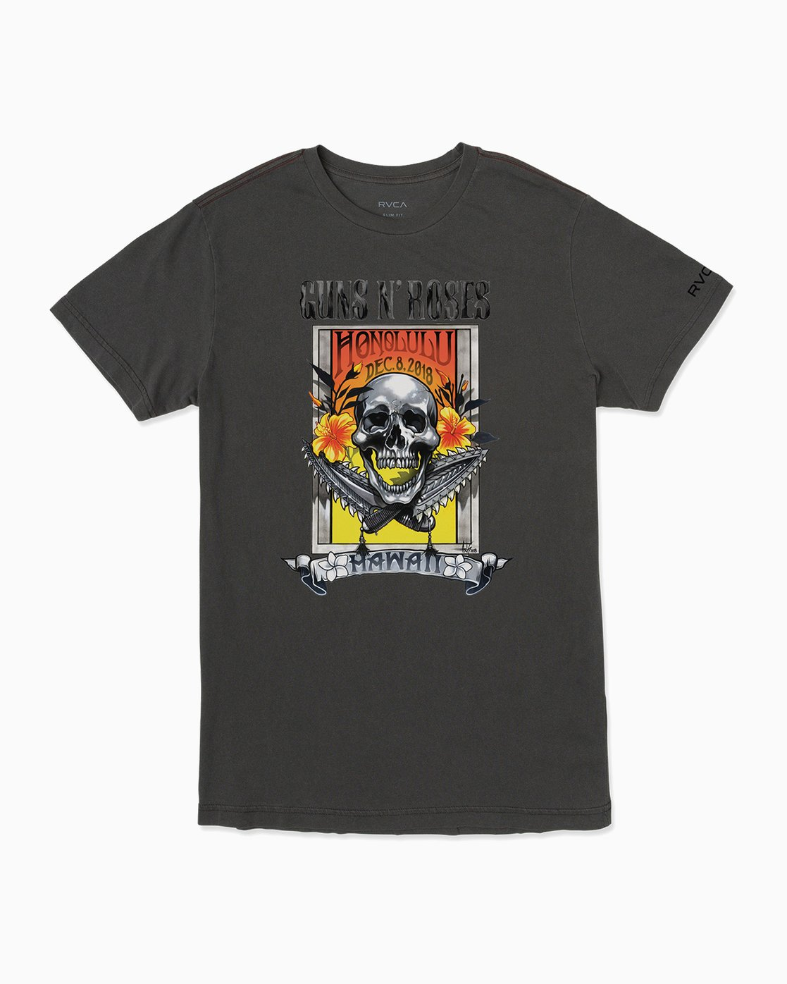 0 Axis Guns N Roses T-Shirt  M404SRAX RVCA