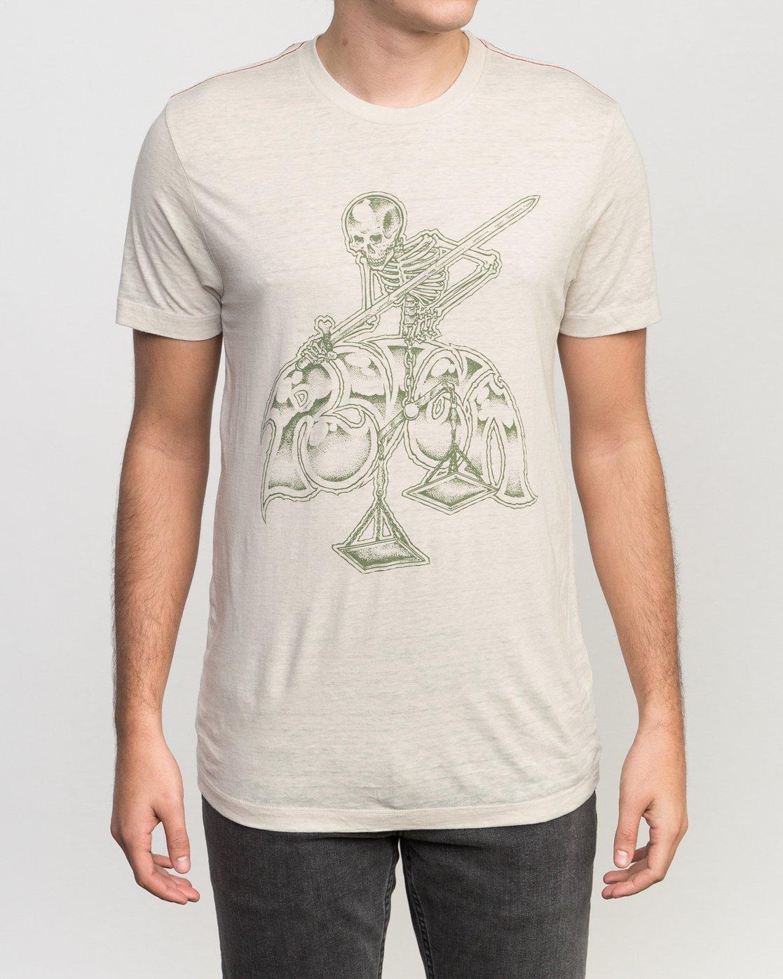 1 Mortal Justice Tri-Blend T-Shirt  M405PRMO RVCA