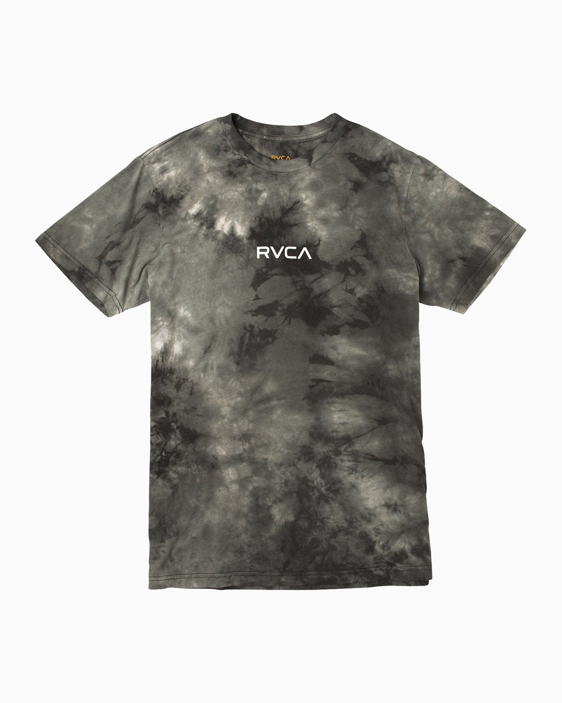d22aa1e27b 0 Center RVCA Washed T-Shirt Black M409QRCE RVCA