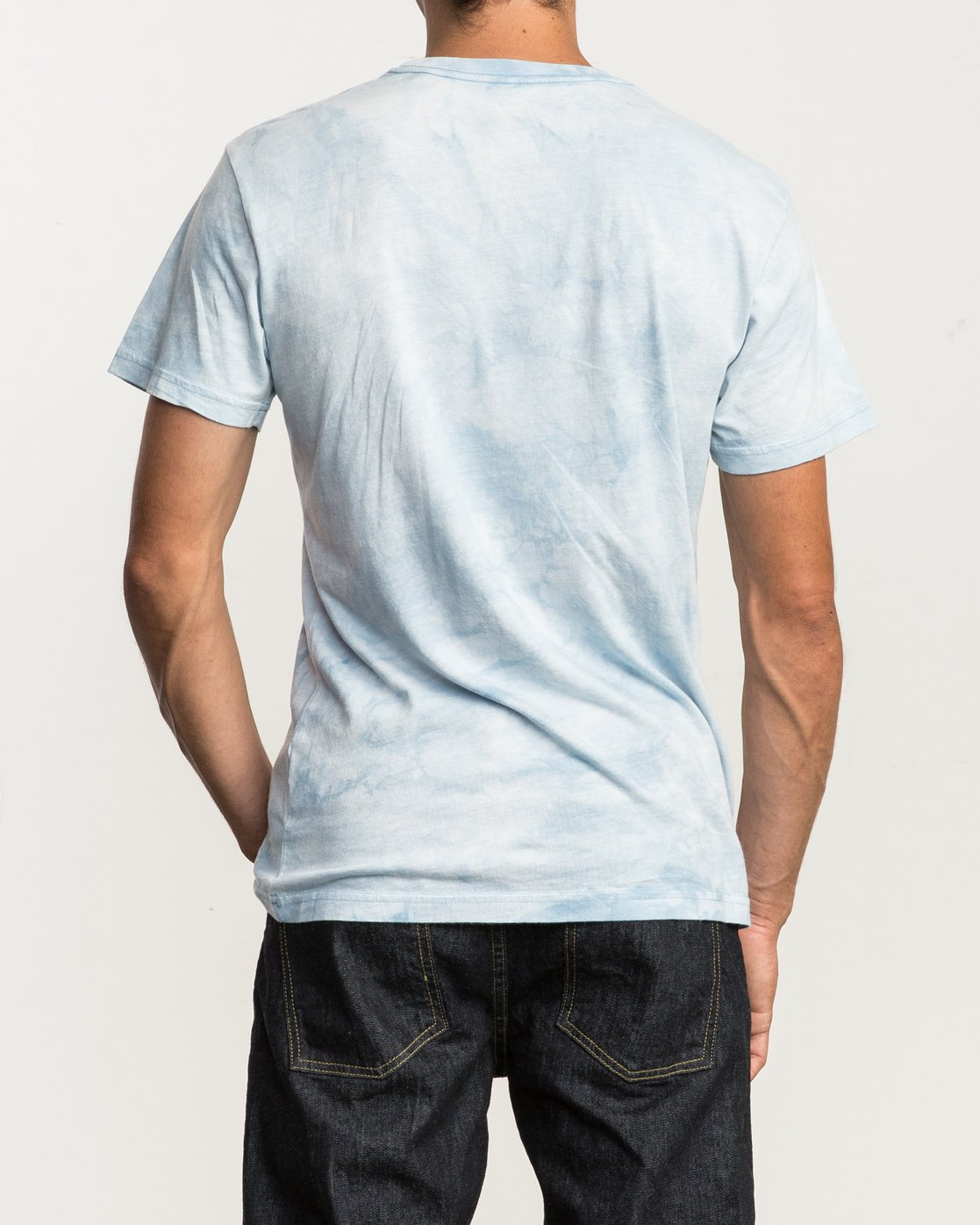 3 Center RVCA Washed T-Shirt  M409QRCE RVCA