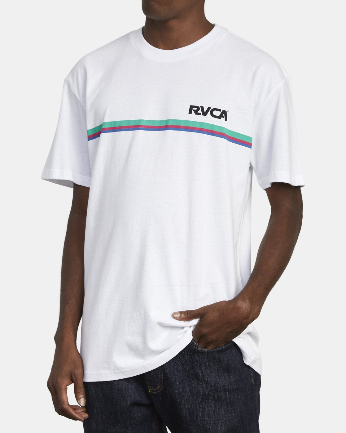 5 CANNONBALL T-SHIRT White M4101RCA RVCA