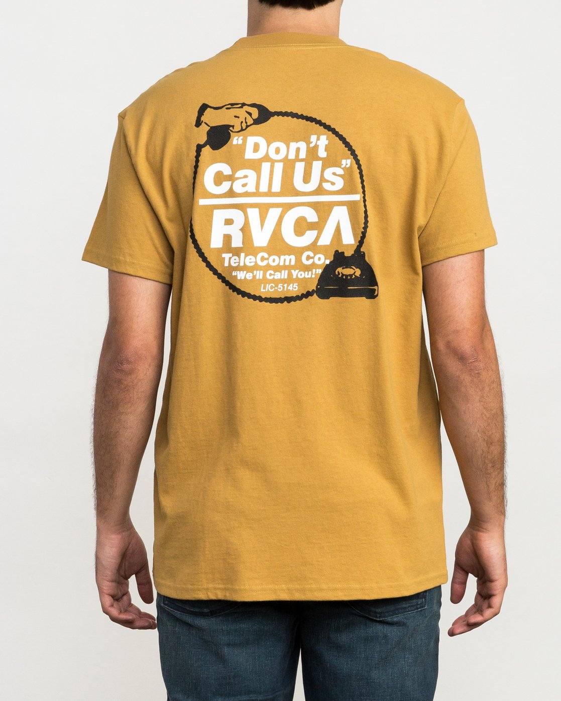 3 Don't Call Us T-Shirt  M410QRDO RVCA