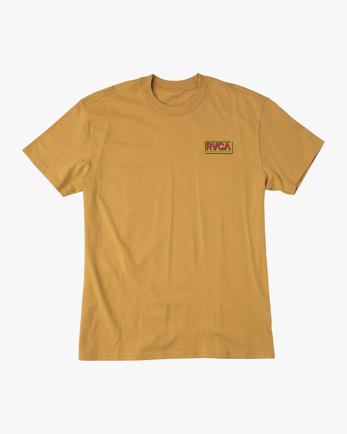 1 Octane T-Shirt  M410QROC RVCA