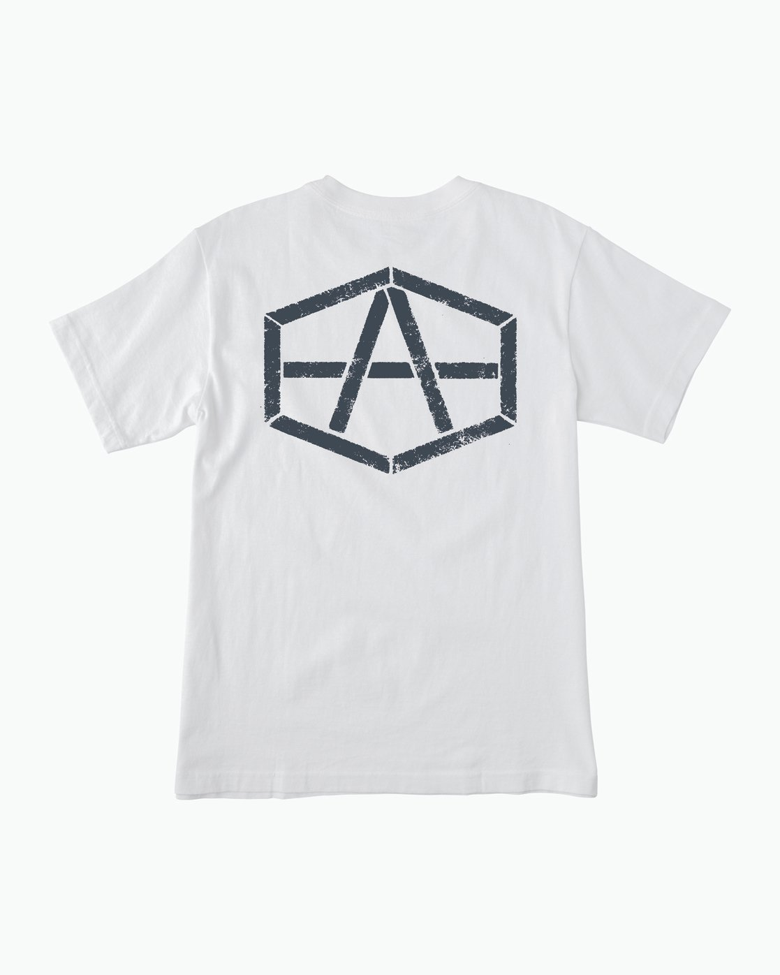 0 Andrew Reynolds Stencil T-Shirt White M410SRRE RVCA