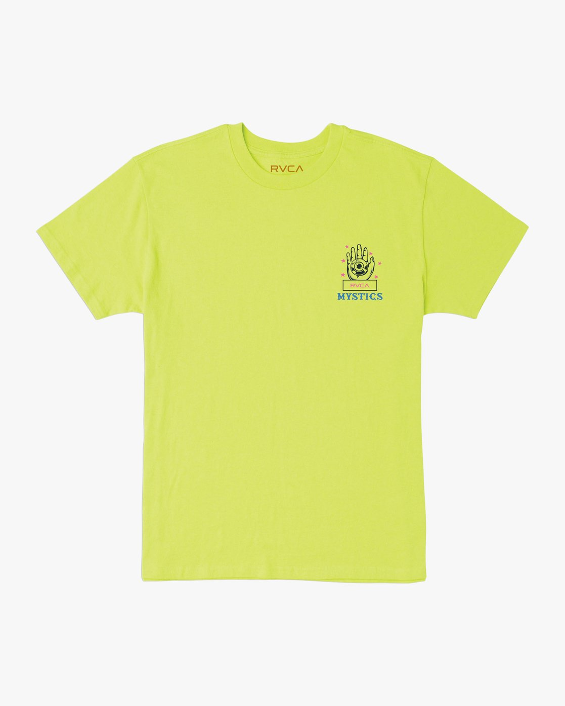 1 Dmote Psychic T-Shirt Yellow M410TRPS RVCA