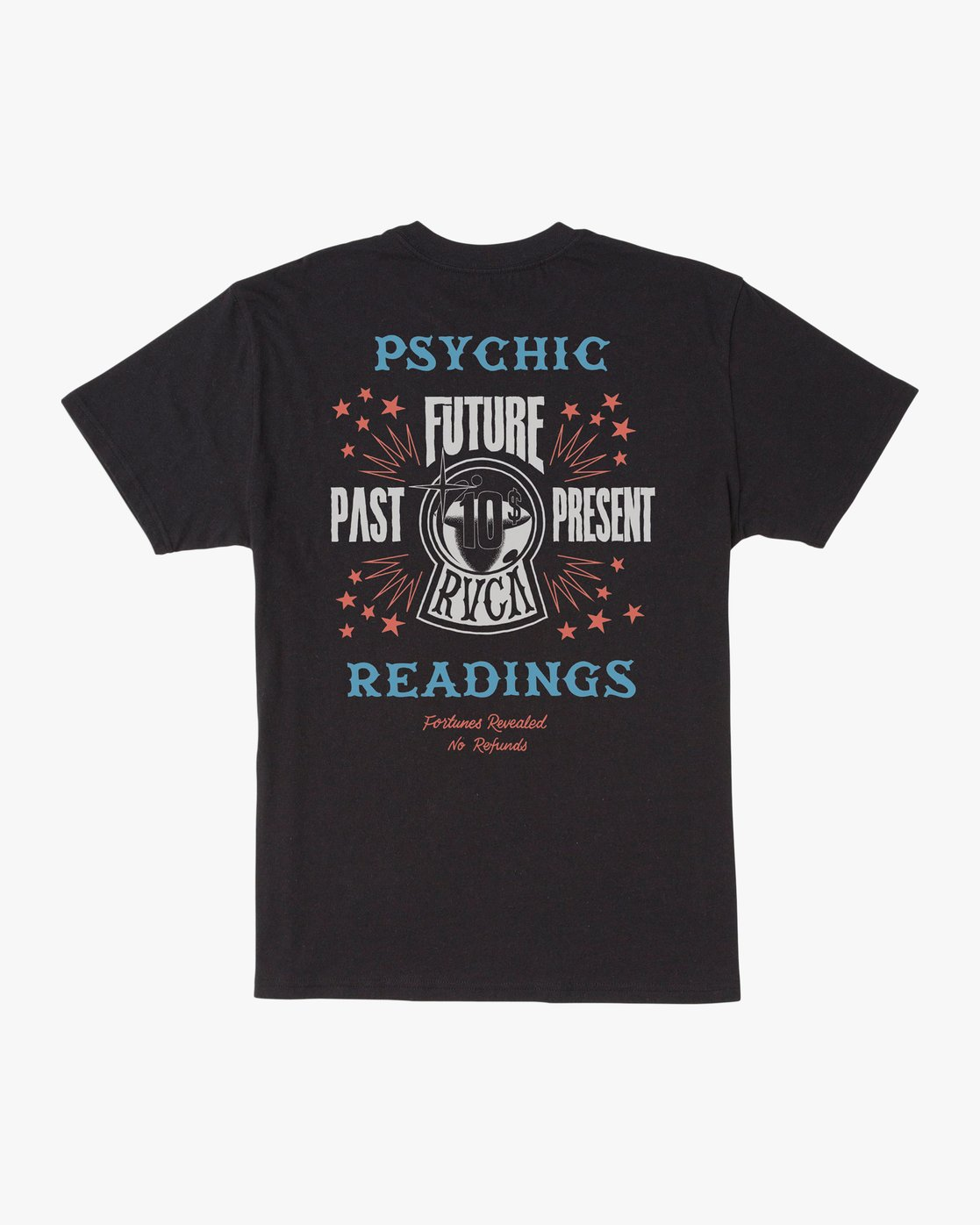 0 Dmote Psychic T-Shirt Black M410TRPS RVCA