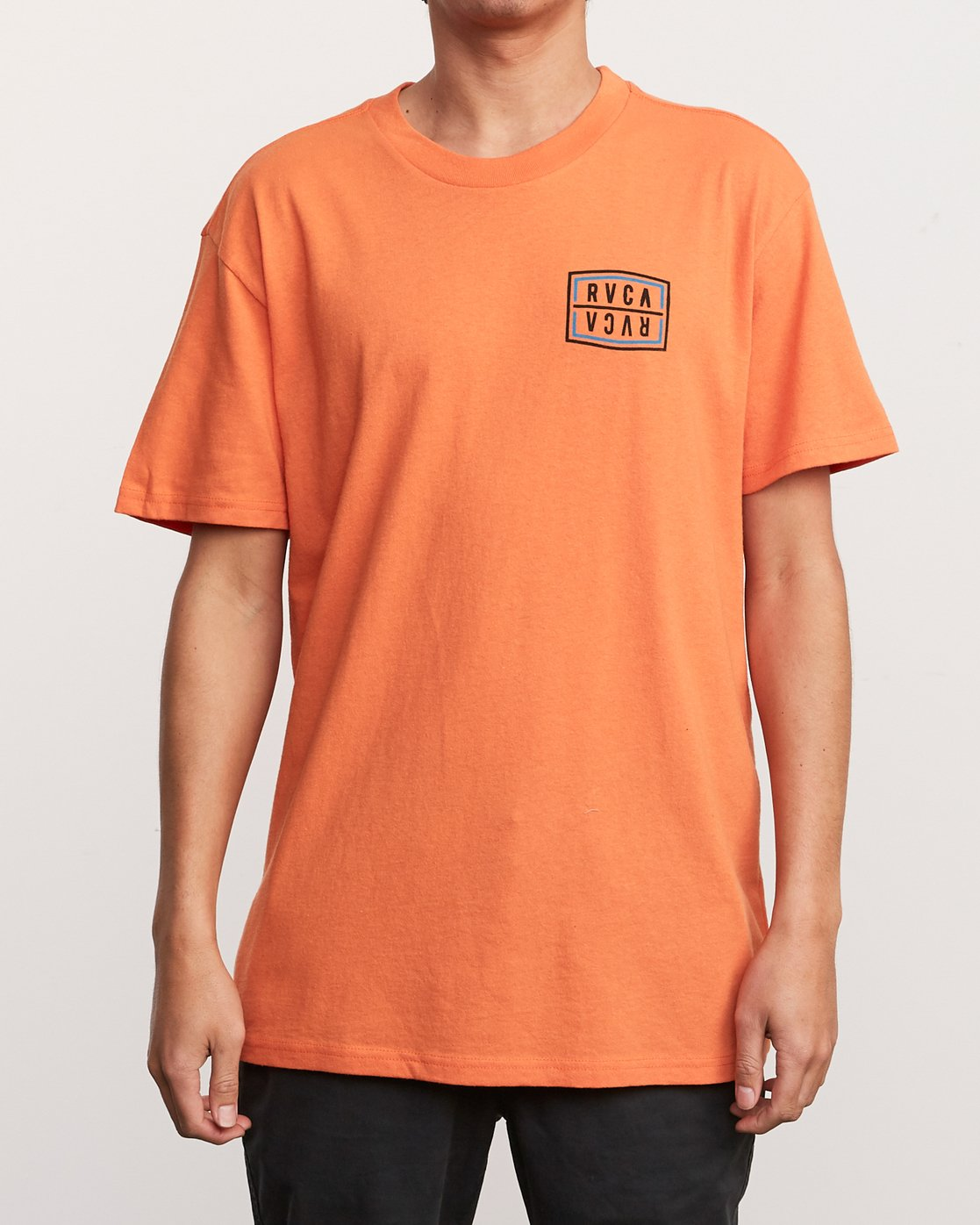 2 Flip Corpo T-Shirt Orange M410URFI RVCA