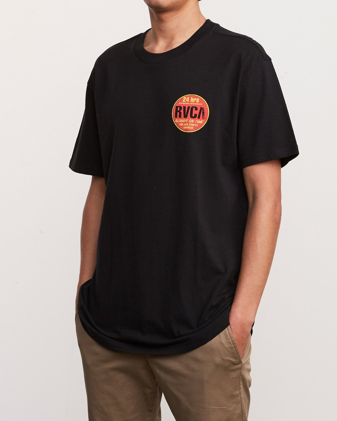 3 Insured T-Shirt  M410URIN RVCA