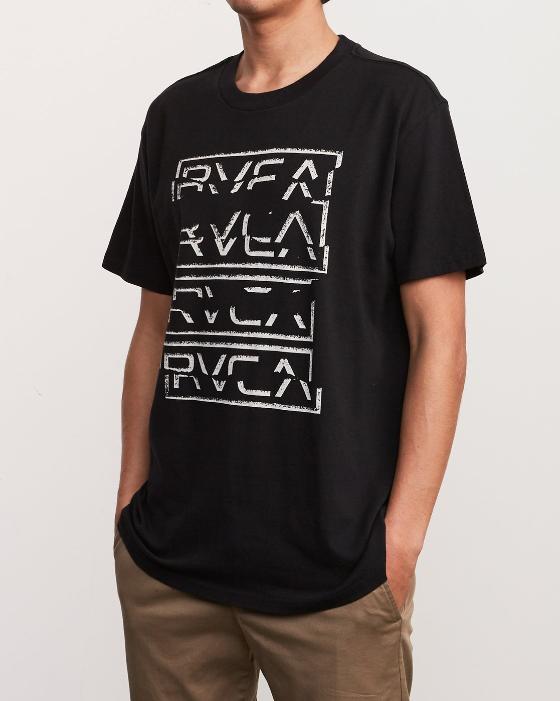 2 Tear Up T-Shirt Black M410URTE RVCA