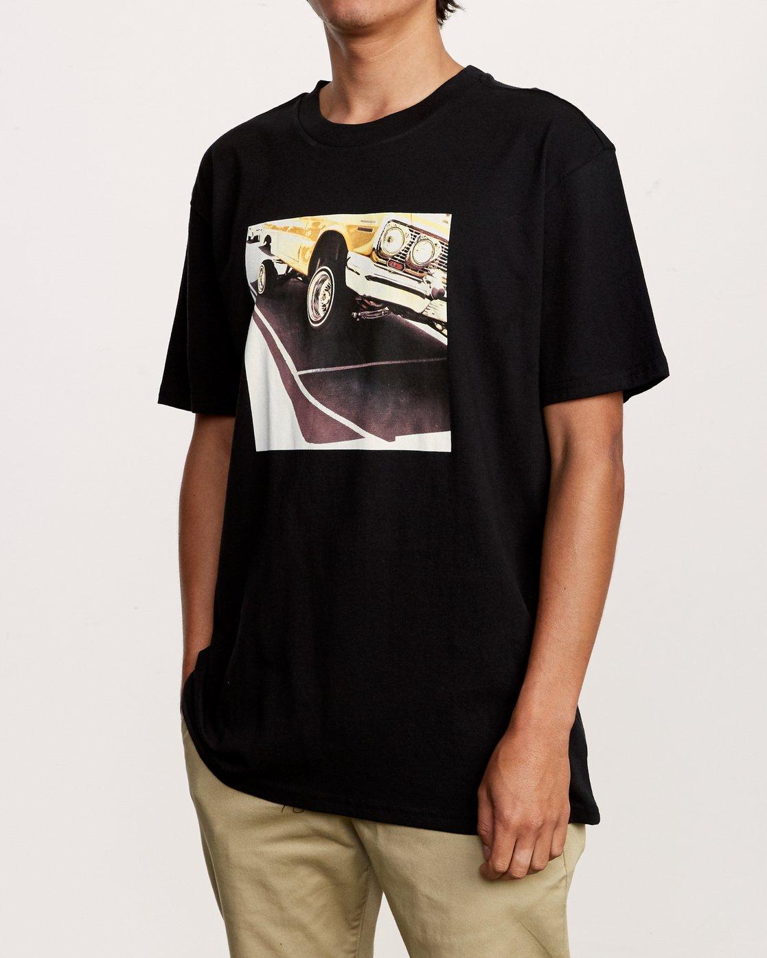 2 Bajda Hydraulic T-Shirt Black M410VRHY RVCA