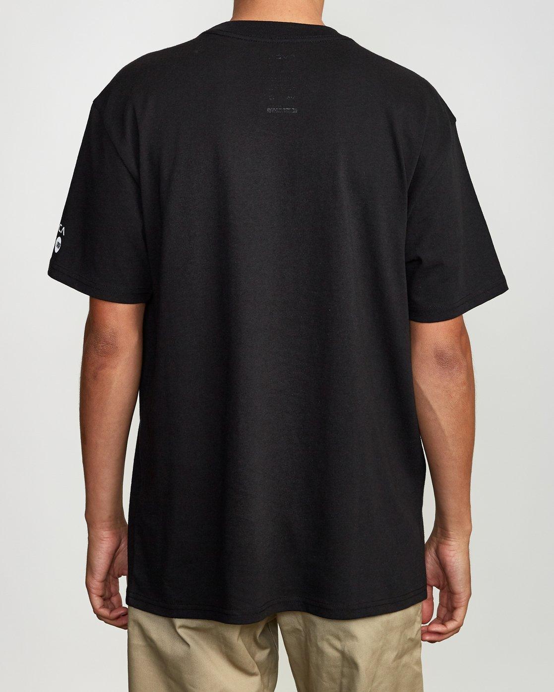3 Niikuratakao Tokyo T-Shirt Black M410VRNI RVCA