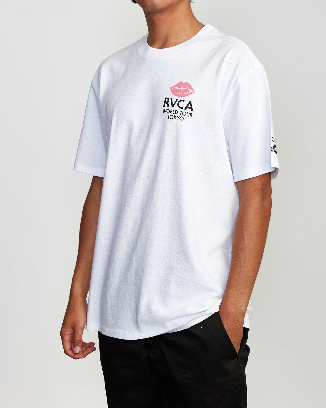 3 No Panties Tokyo T-Shirt White M410VRNP RVCA