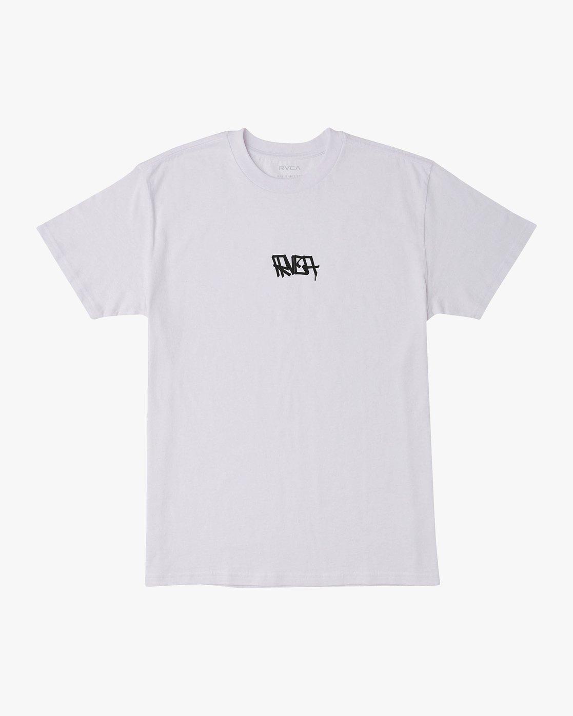 1 Remio Mix T-Shirt White M410VRRE RVCA