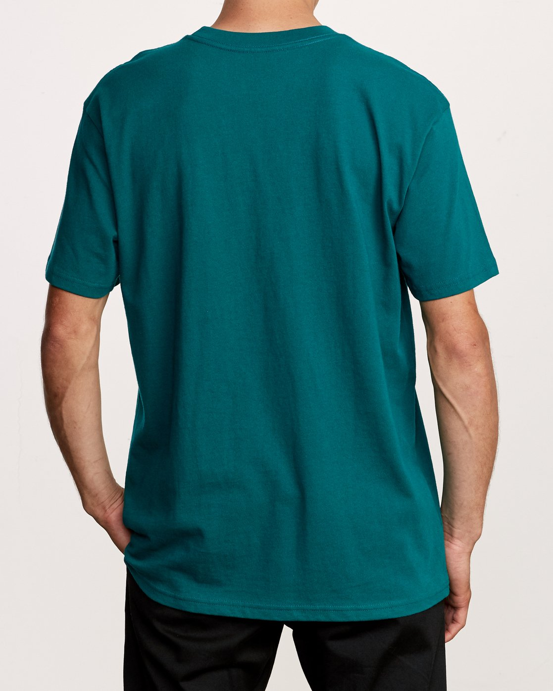 3 Slacker T-Shirt Green M410VRSL RVCA