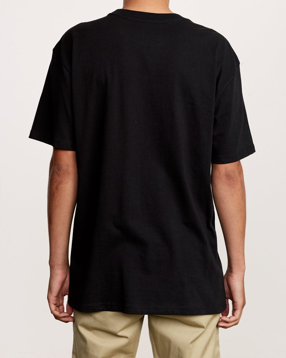 2 Slacker T-Shirt Black M410VRSL RVCA