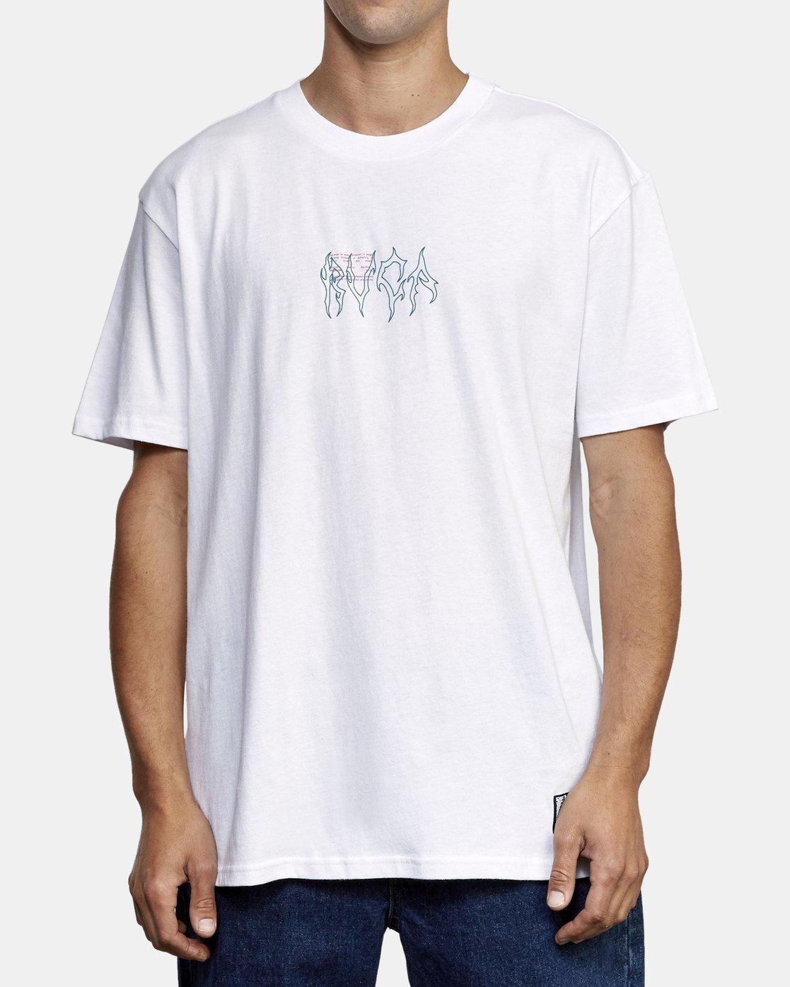 2 Infrared T-Shirt White M410WRIN RVCA