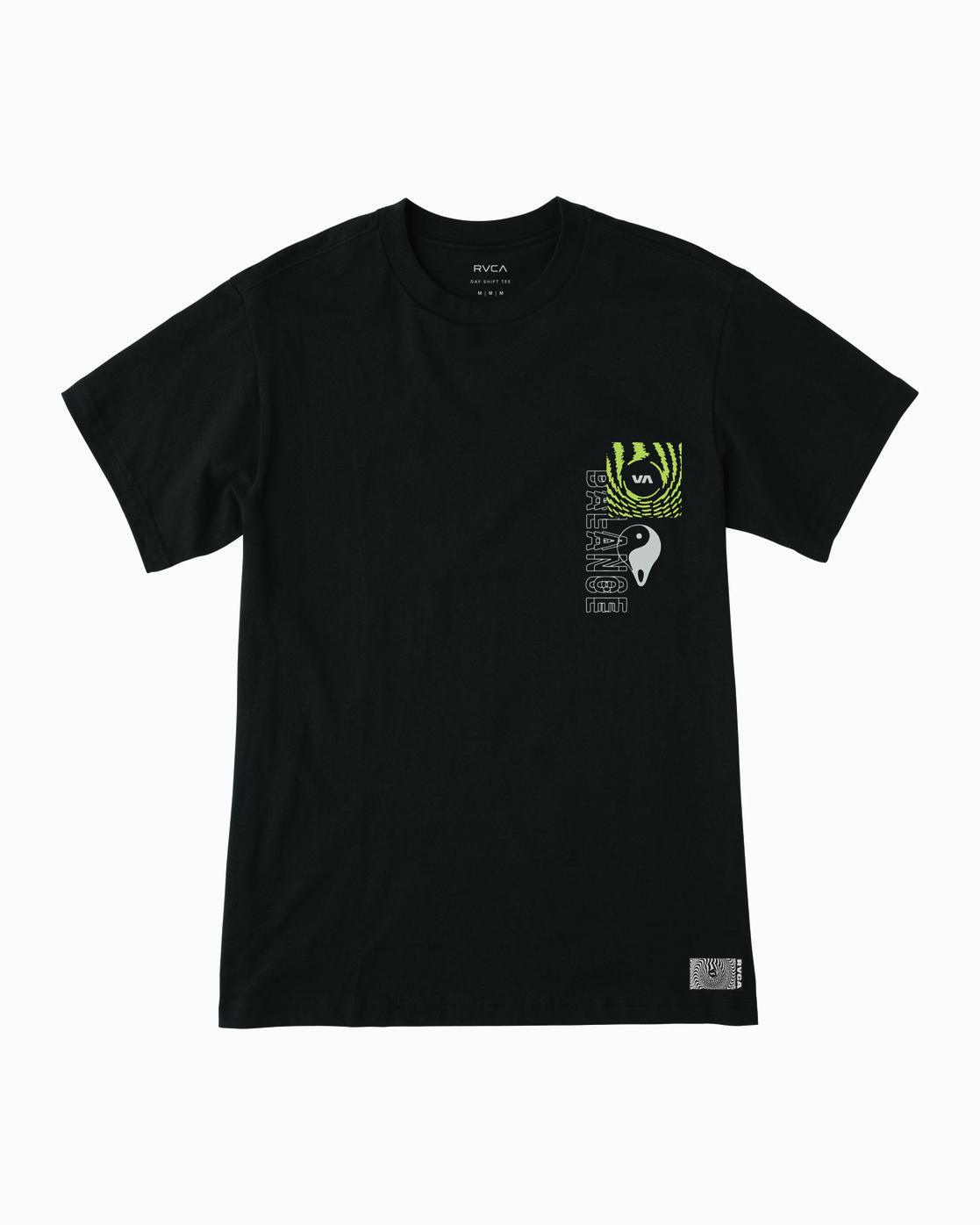 1 Void T-Shirt Black M410WRVO RVCA