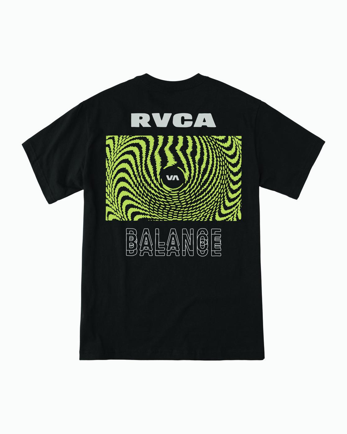 0 Void T-Shirt Black M410WRVO RVCA
