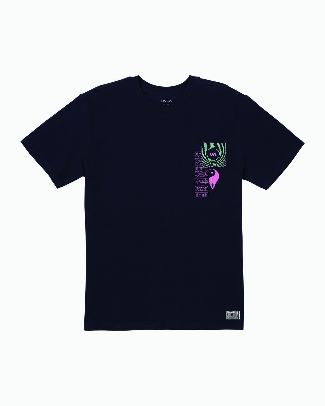1 Void T-Shirt Blue M410WRVO RVCA