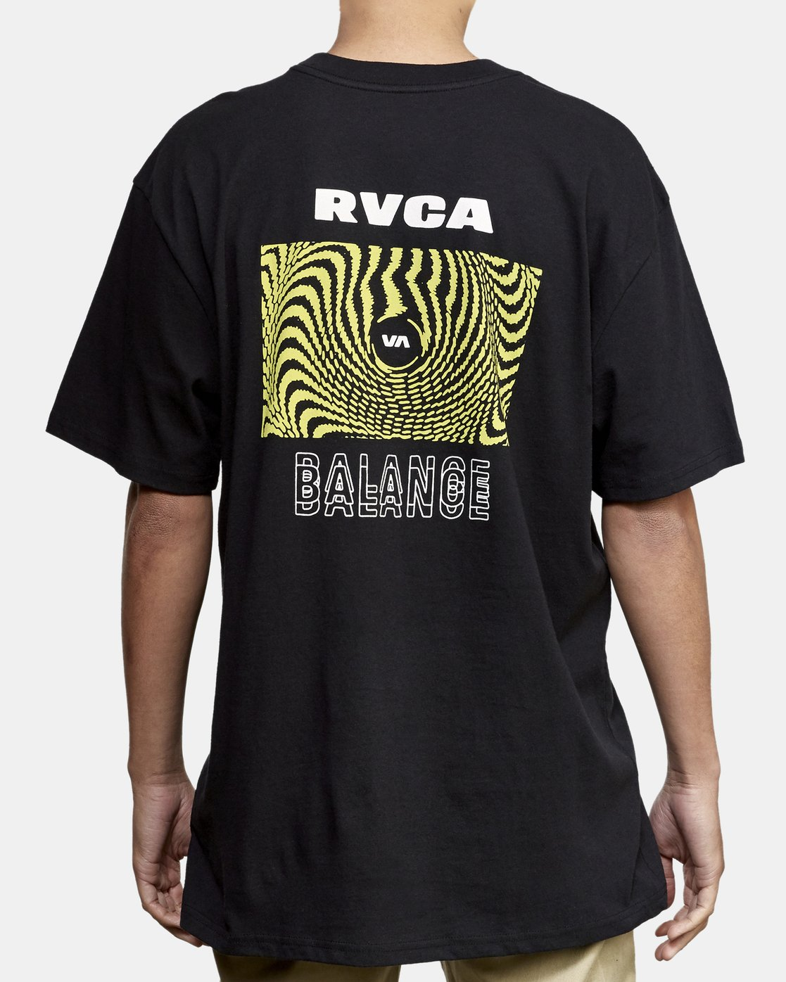 4 Void T-Shirt Black M410WRVO RVCA