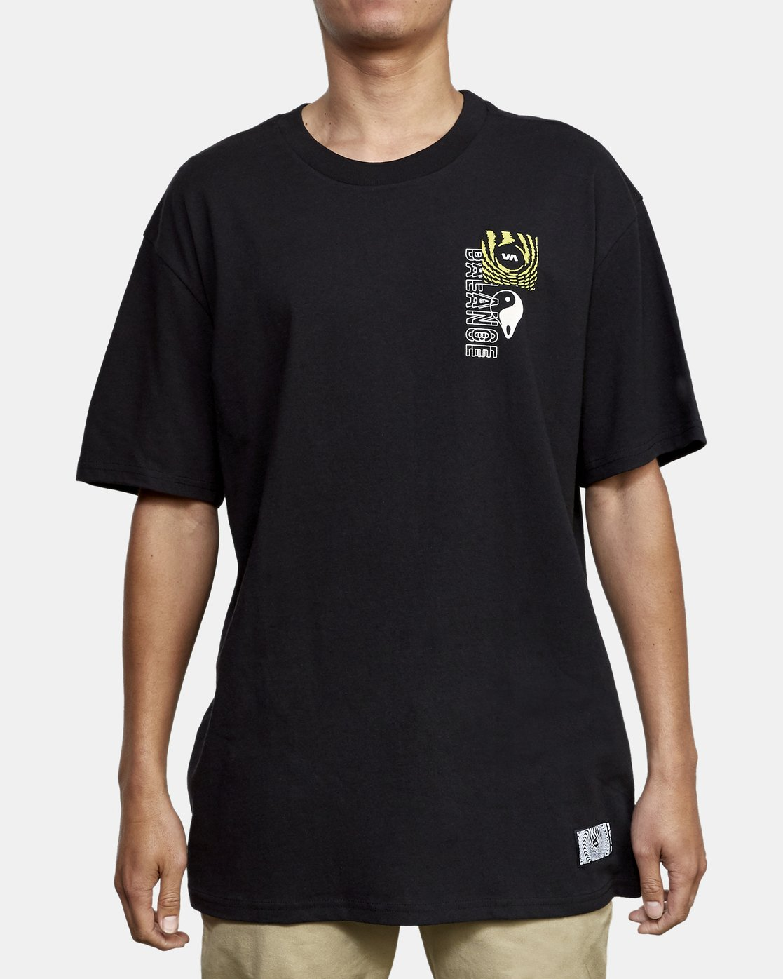 2 Void T-Shirt Black M410WRVO RVCA