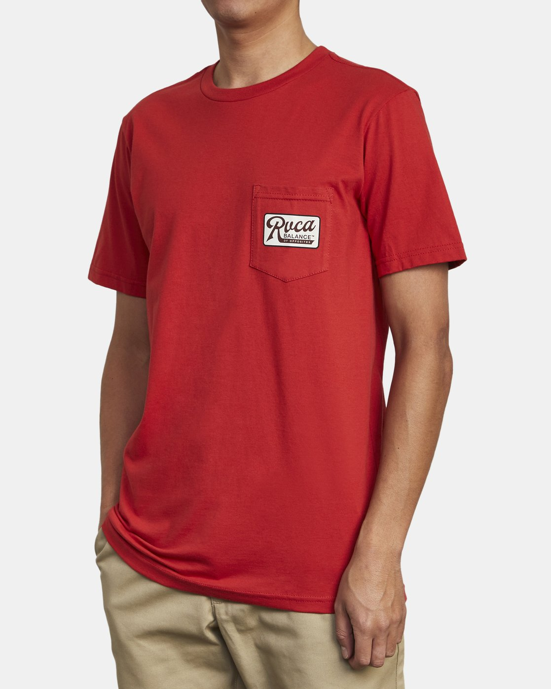 3 MUSTANG T-SHIRT Red M4121RMU RVCA
