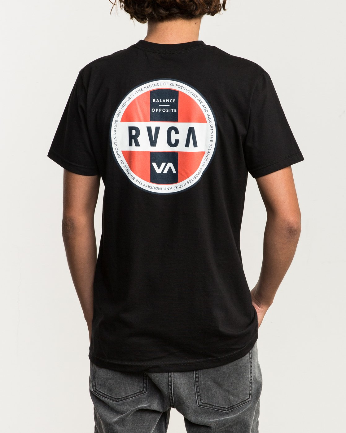 4 Indobrok Pocket T-Shirt Black M412SRIN RVCA