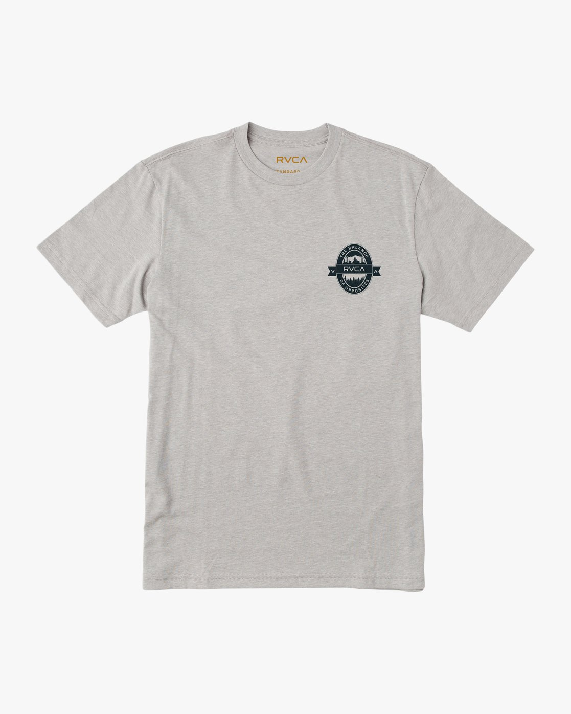 1 Barley T-Shirt Grey M412TRBA RVCA