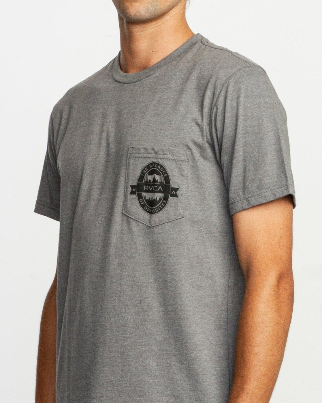 5 Barley T-Shirt  M412TRBA RVCA