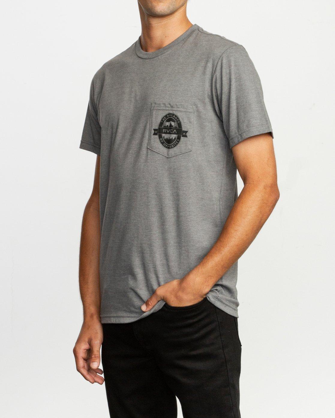 3 Barley T-Shirt  M412TRBA RVCA