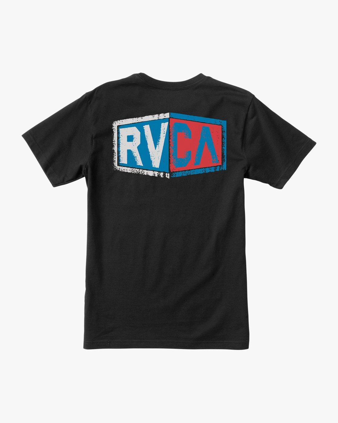 0 Carborator T-Shirt Black M412TRCA RVCA